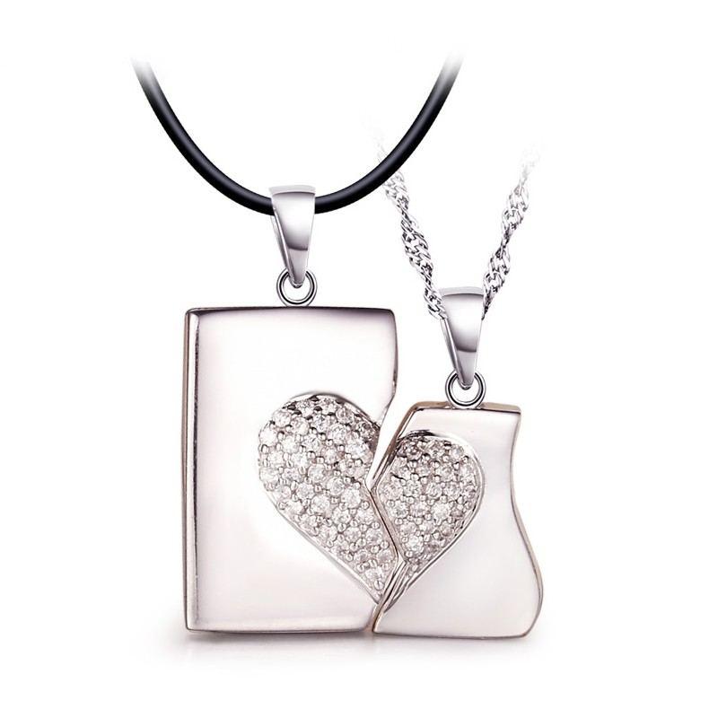 Haben Gegenseitige Affinität S925 Silberketten Für Liebhaber