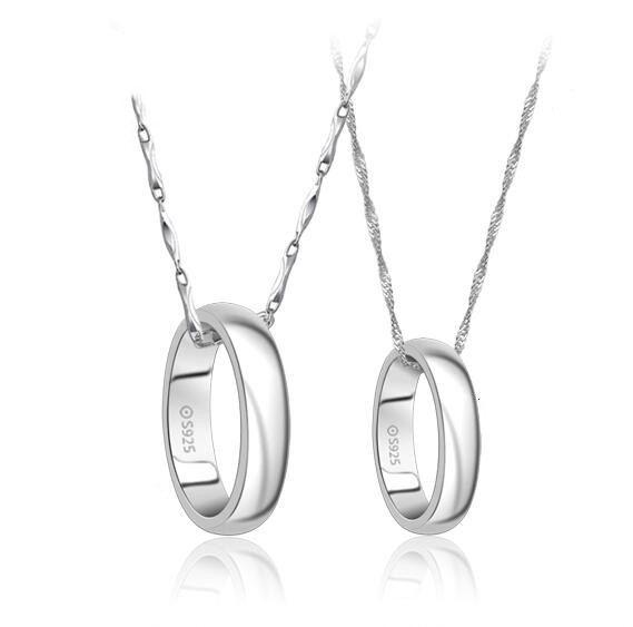Mode S925 Silberliebhaber Halsketten