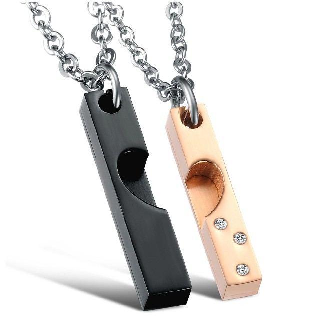 Neue Mode Sweet Heart Lover Halskette (Preis Für Ein Paar)