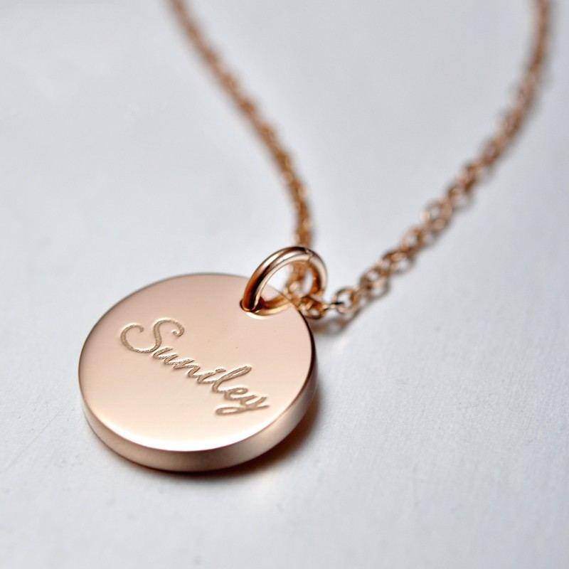 Retro 925 Silber Maßgeschneiderte Halskette