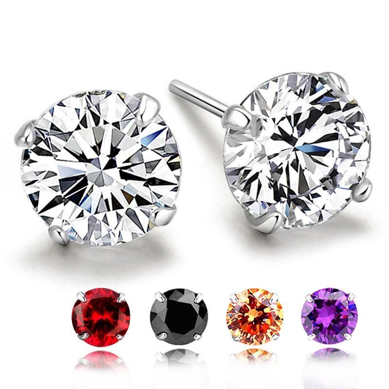 Einfache Ohrringe Für Damen Freundin Sterling Silber Baumeln Ohrringe Schmuck Geschenke Zum Weihnachtsjubiläum