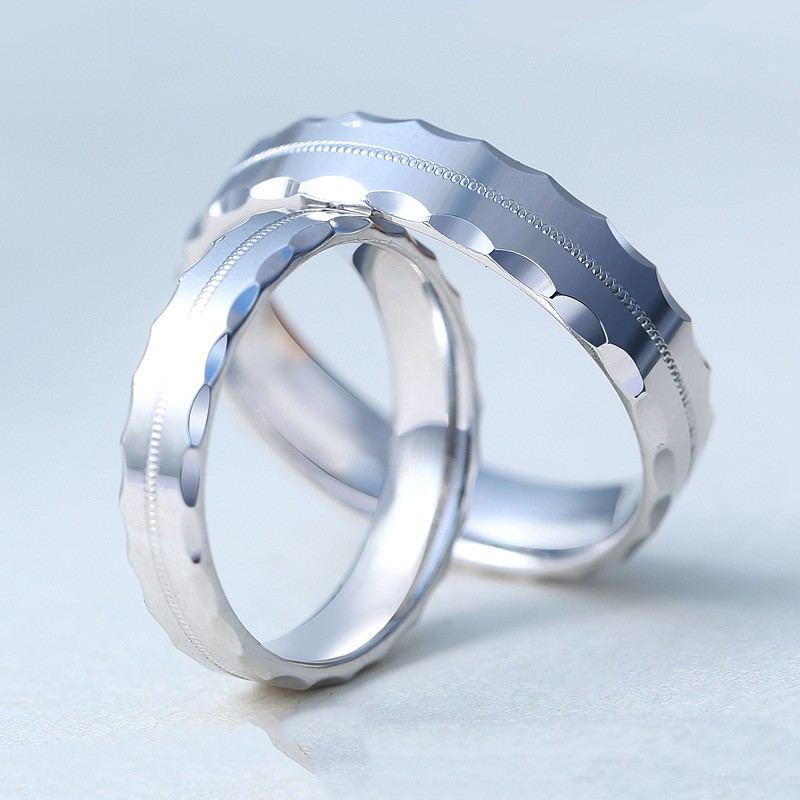 Original Design Time Round S925 Silber Paar Ringe